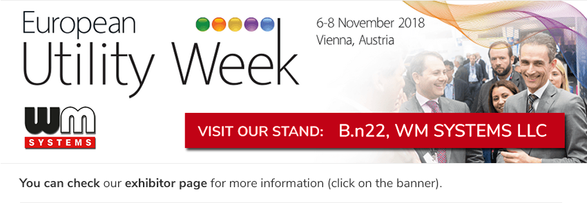 Visit to our booth EUW Expo Area (Messe Wien Exhibition Congress Center), Hall B, Stand n22 (WM Systems LLC)