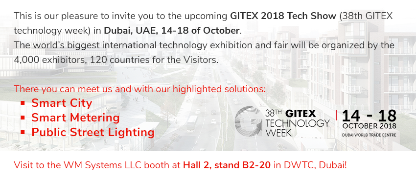 There you can meet with our highlighted Solutions: Smart Metering, Smart City, Public Street Lighting
