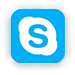 Skype chat message